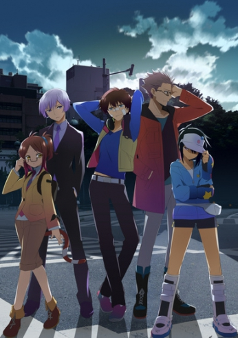 Хаматора ТВ1-2 / Hamatora The Animation TV1-2 | Киси Сэйдзи | 2014